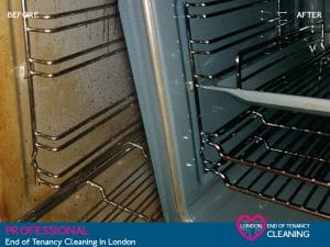 image of oven cleaning